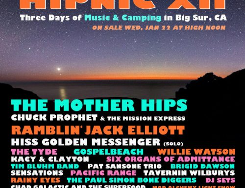HIPNIC XII BIG SUR, CA MAY 15, 16, 17