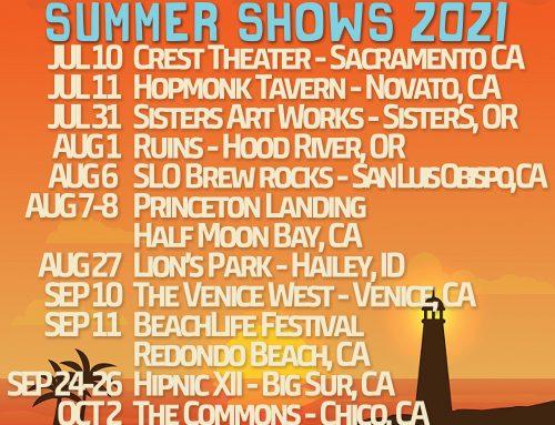 Summer Tour Dates Announced!